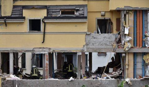 Milano: esplosione distrugge palazzina. 3 morti, 9 feriti