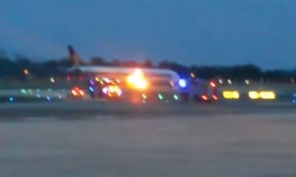Volo Singapore-Milano in fiamme, nessun ferito