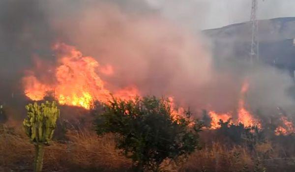 Sicilia devastata da incendi. Gente intossicata. Chiusa autostrada