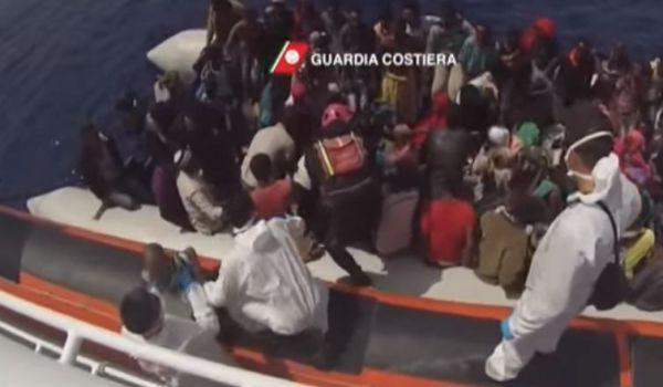 Migranti: strage sulle coste Libia. 41 morti