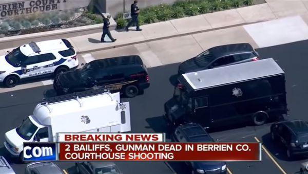 Usa: sparatoria tribunale Michigan. 3 morti