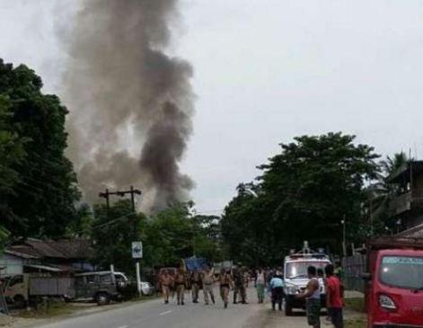 India: strage in un mercato dell' Assam. 13 morti