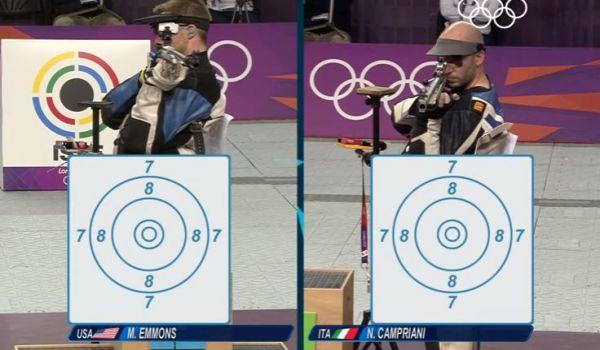 Olimpiadi: grandissimo Campriani. E' oro nella carabina
