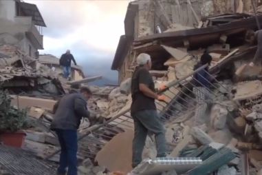 Terremoto: interviene l'esercito