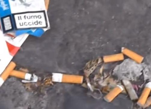 Tassa sul fumo e guerra alle cicche per strada
