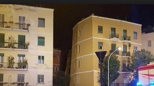 Roma: crolla palazzo. Era stato appena sfollato