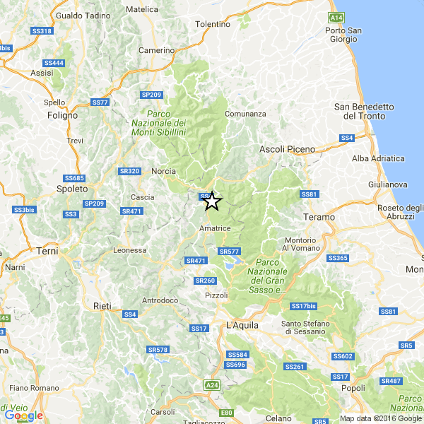 Altro forte terremoto in Italia centrale