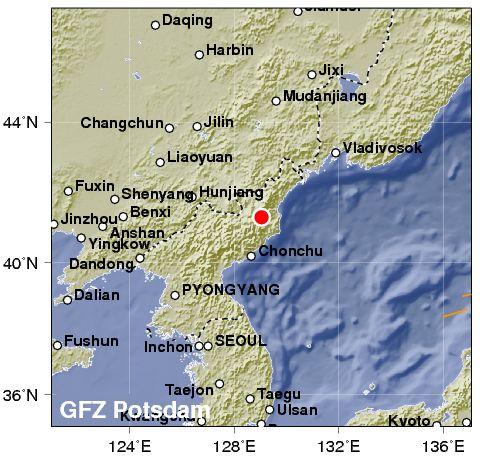 Corea del Nord: bomba atomica provoca forte terremoto