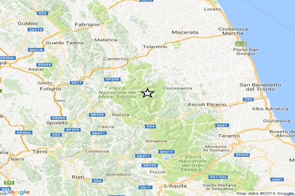 Ascoli Piceno: forte terremoto fa paura