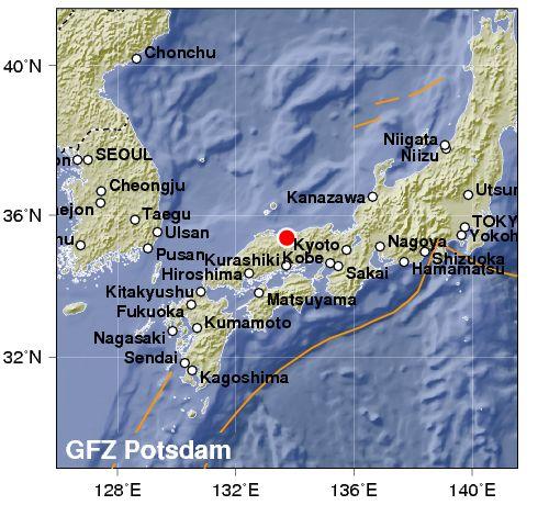 Violentissimo terremoto in Giappone