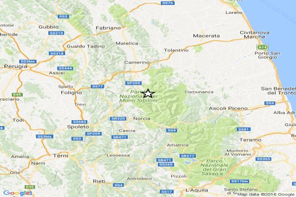 Terremoto scuote dalle Marche a Roma. Due forti scosse. Una vittima