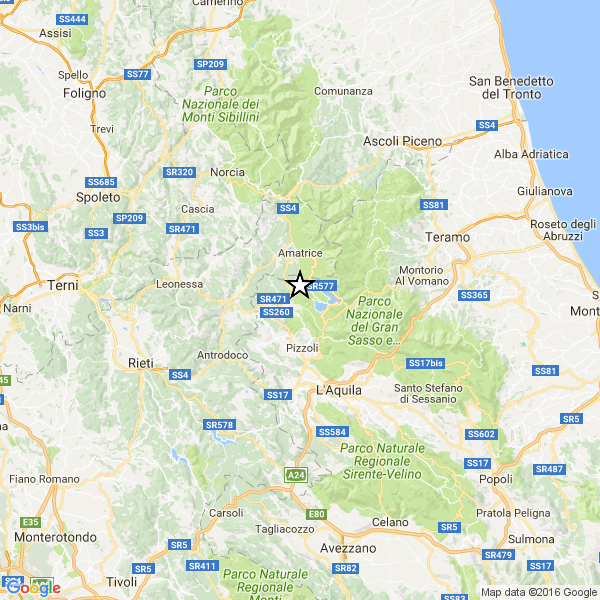 Forte terremoto nei pressi dell'Aquila. Tanta paura. Nessuna vittima