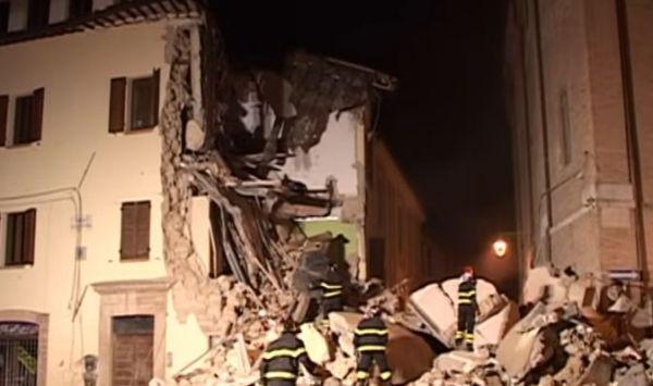 Nuova forte scossa di terremoto a Camerino