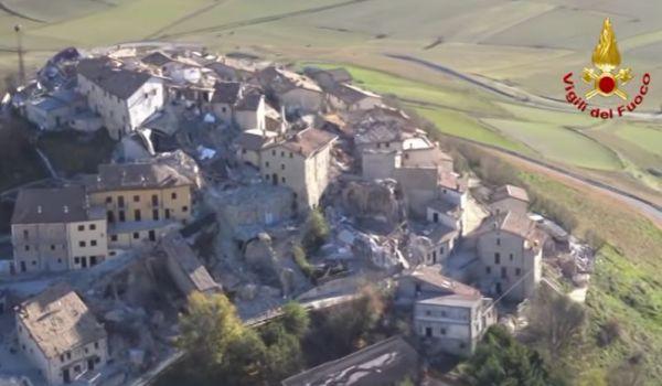 Nuove scosse di terremoto a Castelluccio di Norcia