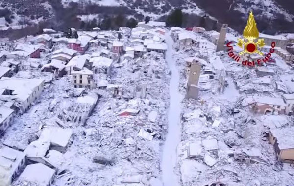 Terremoto: continuano le scosse sotto Amatrice