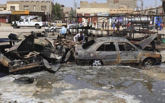 Iraq, autobomba in un mercato di Baghdad: almeno 11 morti