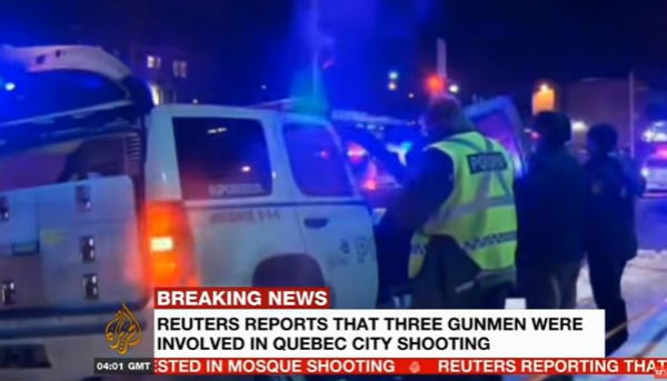 Canada: assalto a moschea. 5 morti, 8 feriti