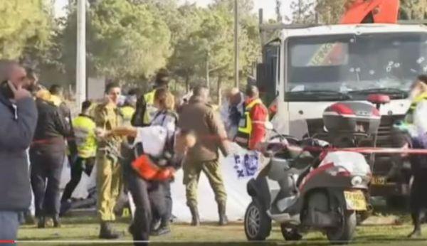 Attacco con un camion a Gerusalemme: uccisi 4 soldati israeliani