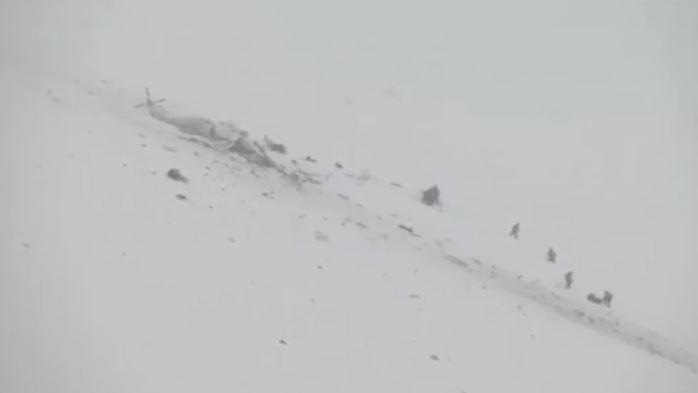 Cade elicottero 118 in Abruzzo. 6 morti
