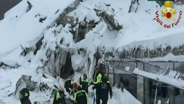Emergenza neve-terremoto, numerosi interventi dei Vigili del Fuoco