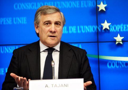 Italiano il Presidente Parlamento Ue. Eletto Tajani