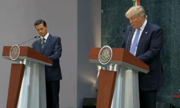 Scontro tra Usa e Messico sul muro voluto da Trump