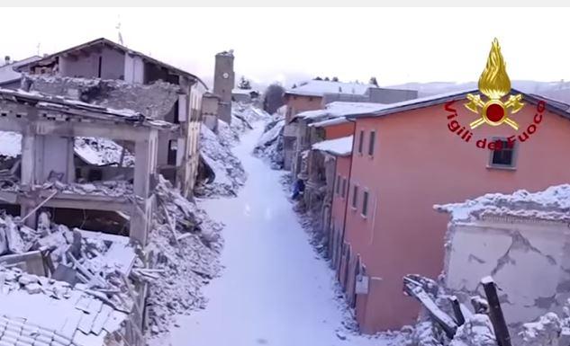 Terremoto: i costi sono di 23,5 miliardi