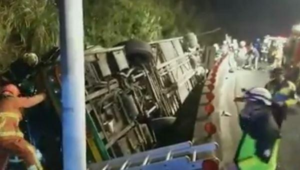 Taiwan: 32 morti per incidente a bus