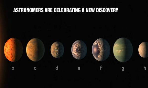 Spazio: scoperti sette pianeti simili alla Terra