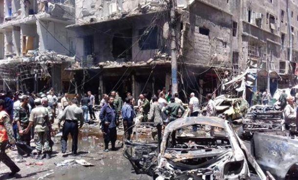 Siria: bombe in cimitero sciita. 40 morti