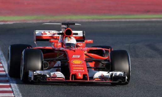 F1: vince la Ferrari, con Vettel