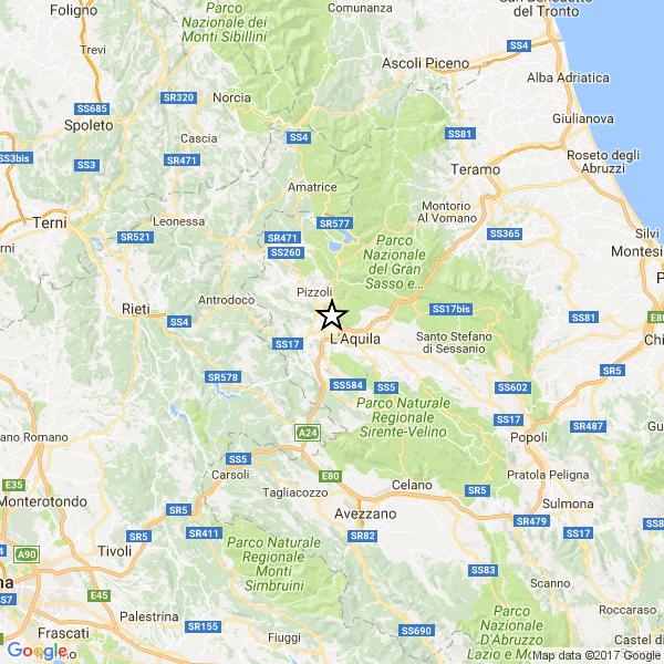 Terremoto a l'Aquila. Paura, senza danni