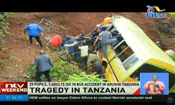 Tanzania: strage di alunni per bus fuori strada