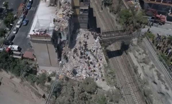 Napoli: tutti morti gli otto, due bambini, travolti nel crollo di Torre Annunziata