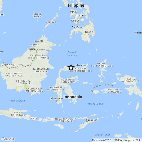 Violento terremoto, 6.0, in Indonesia