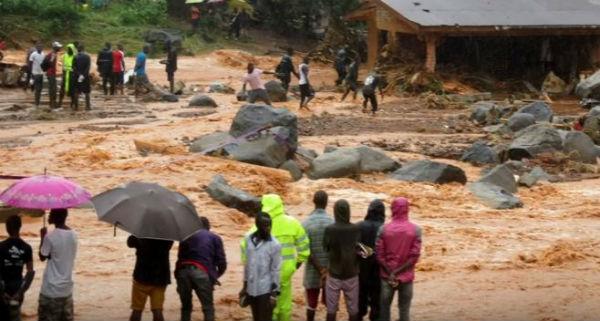 Sierra Leone: sarebbero 400 i morti nel fango