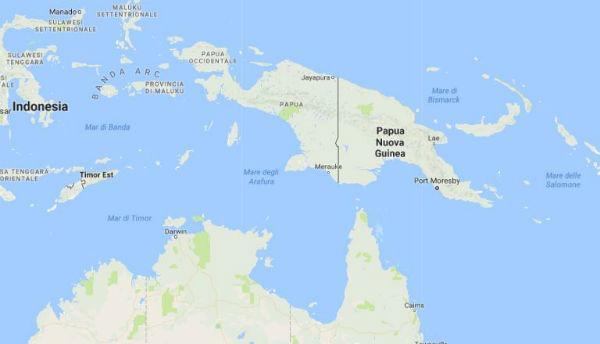 Fortissimo terremoto a Papua Nuova Guinea. Timore tsunami