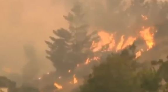 California: morti e distruzione per gli incendi nella zona del vino