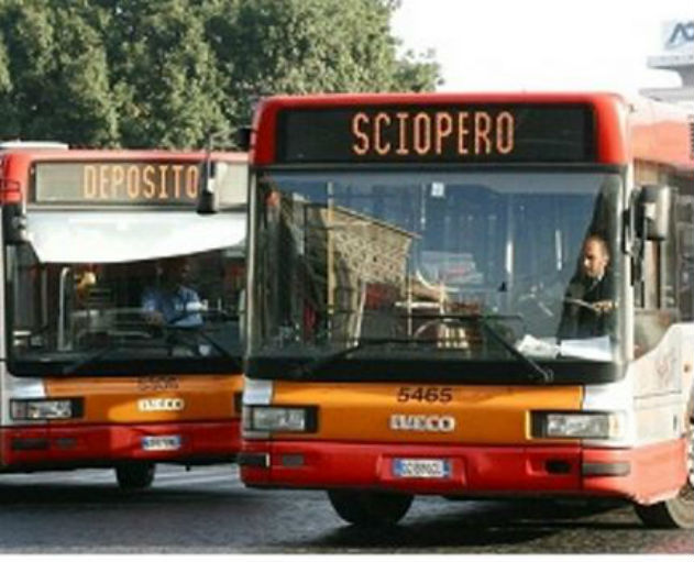 Sciopero: venerdì nero per il trasporto pubblico