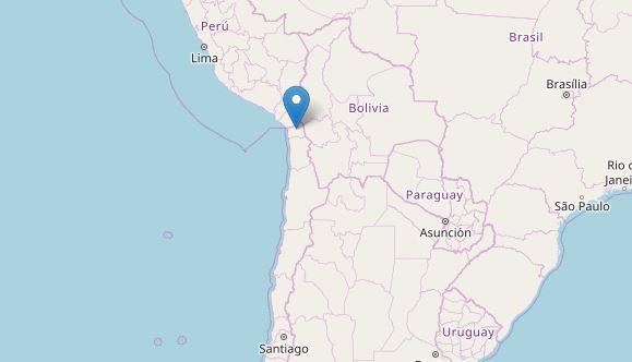 Cile: violento terremoto al confine con Perù