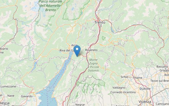 Terremoto sul Lago di Garda