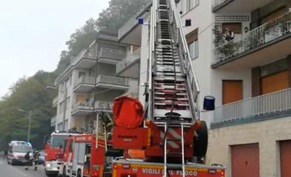 Incendio abitazione a Como: padre e tre figli morti