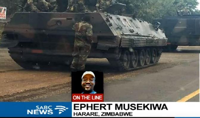 Zimbabwe: colpo di stato? I militari negano, ma controllano la capitale