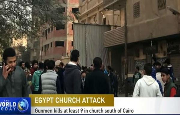 Egitto, attentato in chiesa copta: 10 morti compreso un assalitore, secondo arrestato