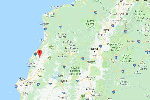 Terremoto colpisce costa dell' Ecuador