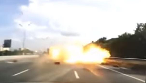 Brescia: fiamme sull'autostrada. 6 morti, tra cui 2 bambini