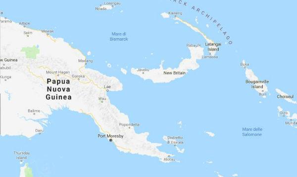 Nuova Guinea: terremoto 7. 5 fa numerosi morti
