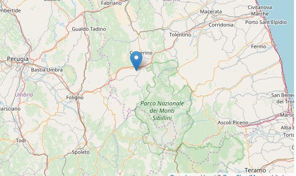 Terremoto Marche: scosse nella notte a Macerata