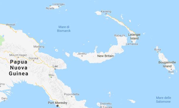 Fortissimo terremoto a Papua Nuova Guinea: 7.0