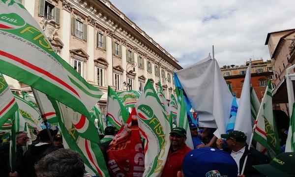 Guardie giurate in sciopero per la sicurezza delle imprese e dei cittadini